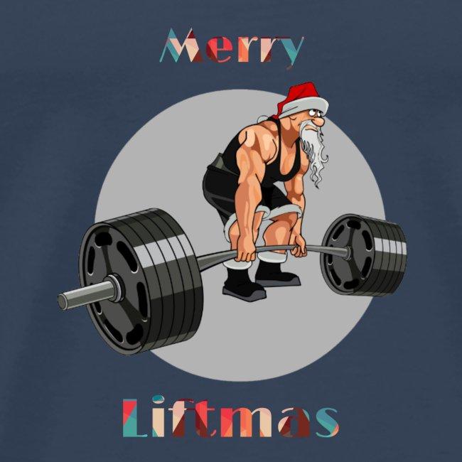 Weihnachten T Shirt Christmas Gym Bodybuilding