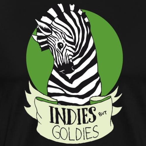 Indies But Goldies Zebra - Männer Premium T-Shirt