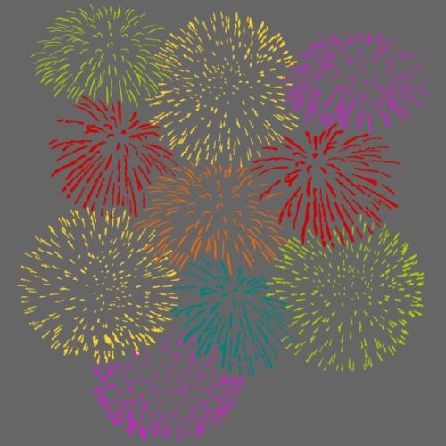 Fireworks Celebration - Men's Premium T-Shirt