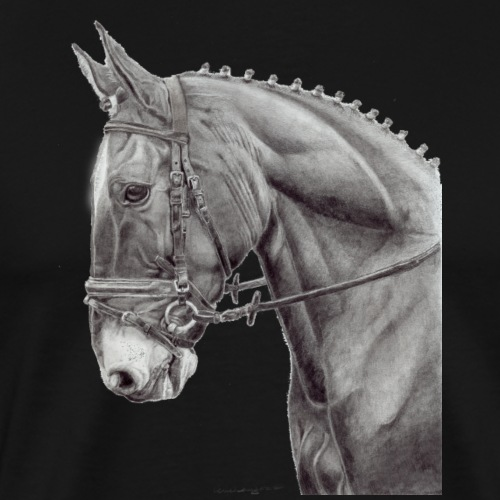 oldenburg horse - Herre premium T-shirt