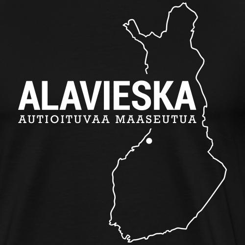 Kotiseutupaita - Alavieska - Miesten premium t-paita