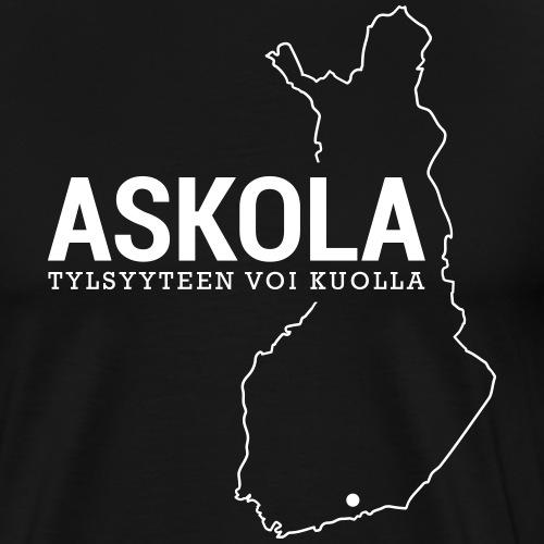 Kotiseutupaita - Askola - Miesten premium t-paita