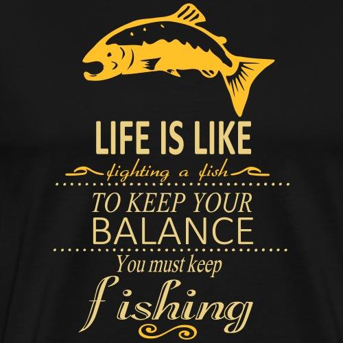 keep the balance - Männer Premium T-Shirt