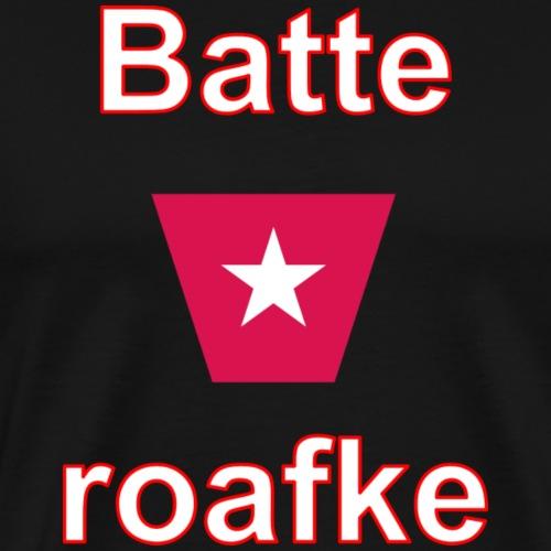 Batteraofke w1 tp vert w - Mannen Premium T-shirt