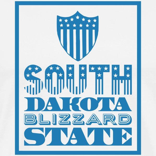 South Dakota blizzard state