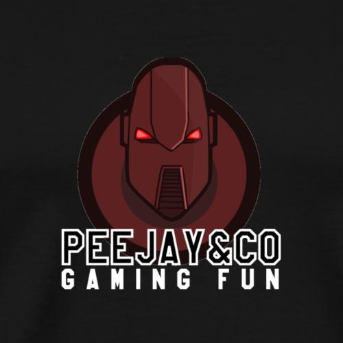 Peejay&CoRobot for Black Clothing - Men's Premium T-Shirt