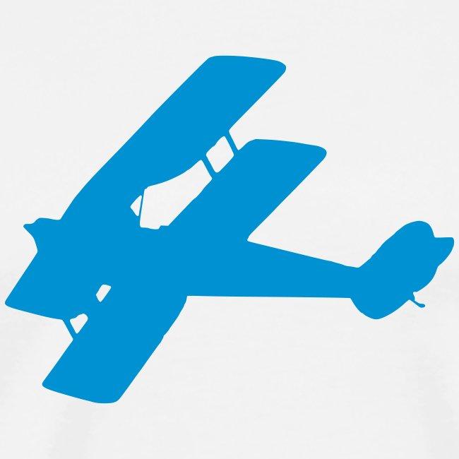 Biplane silhouette
