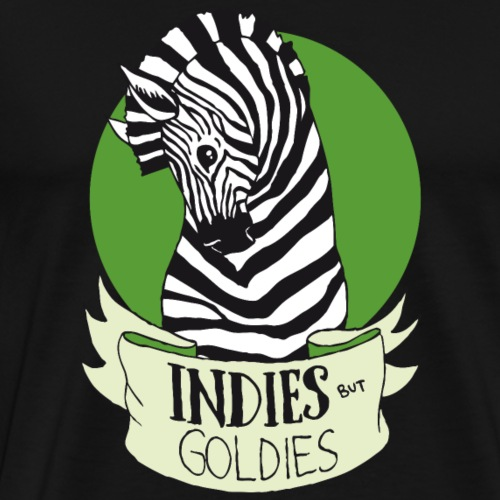 Indies But Goldies Zebra - Männer Premium T-Shirt