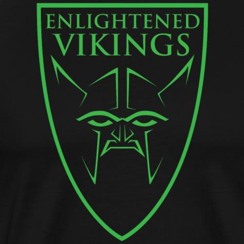 Enlightened Vikings (Org) - Premium T-skjorte for menn