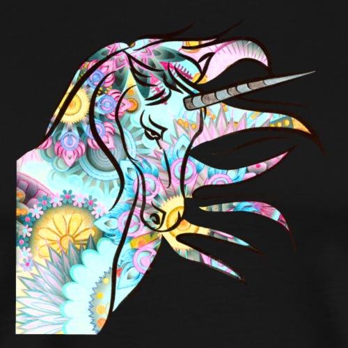 Einhorn Motiv 1 - Männer Premium T-Shirt
