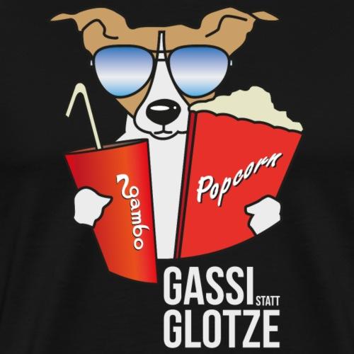 Gassi statt Glotze 1 - Männer Premium T-Shirt