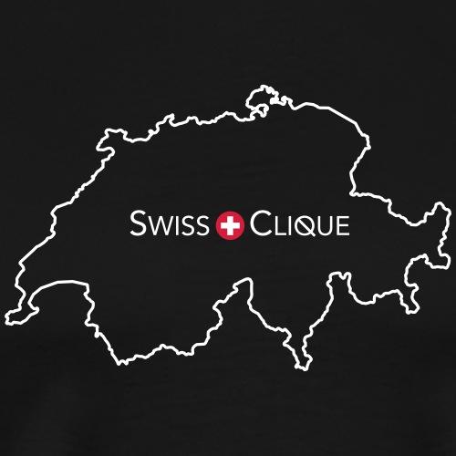 SwissClique red - Männer Premium T-Shirt