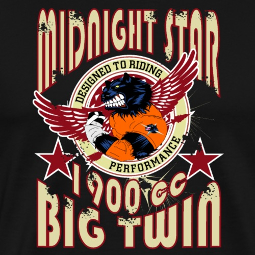 MidnightStar - Mannen Premium T-shirt