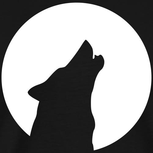 wolfmoon - Männer Premium T-Shirt