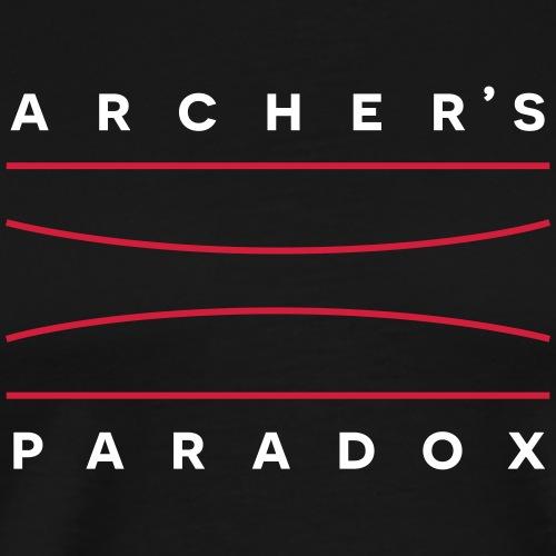 Archer's Paradox (Bogenschießen by BOWTIQUE) - Männer Premium T-Shirt