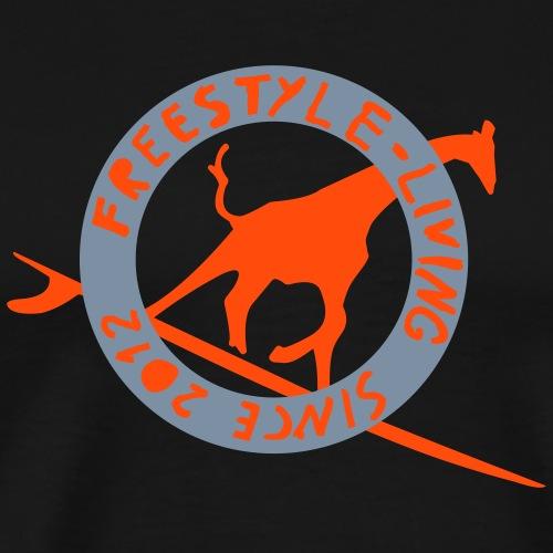 Surf Freestyle FIRE Men Slim Fit T-shirt - Men's Premium T-Shirt