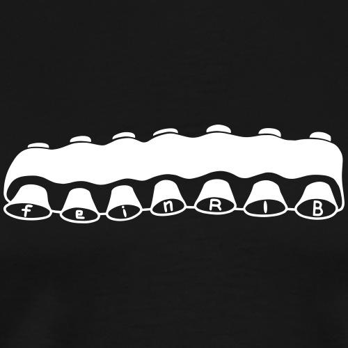 feinRIB - Männer Premium T-Shirt