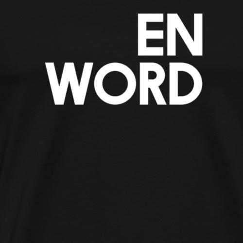 En word - Men's Premium T-Shirt