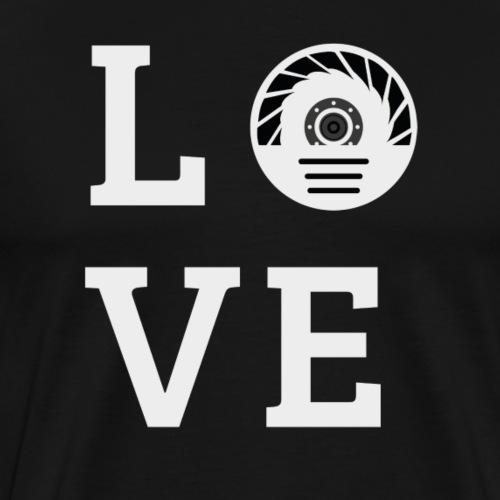 Love Roller - Männer Premium T-Shirt