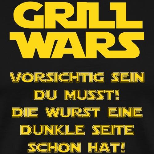Grill Wars - Männer Premium T-Shirt