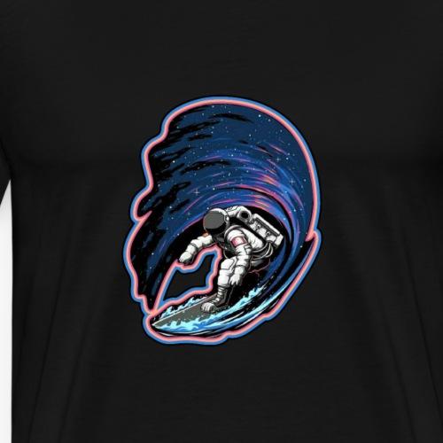 Surfer Astronaut - Men's Premium T-Shirt