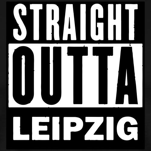 STRAIGHT OUTTA LEIPZIG - Männer Premium T-Shirt