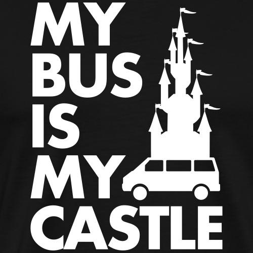 My Bus Is My Castle - Männer Premium T-Shirt