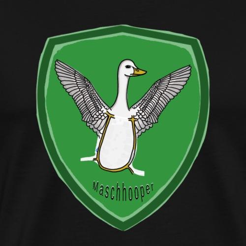 Wappen Maschhooper - Männer Premium T-Shirt