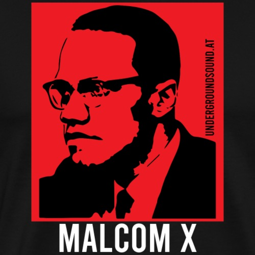 MALCOM X called RED - Männer Premium T-Shirt