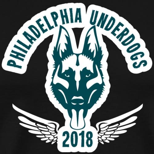 Philadelphia Underdogs Geschenk - Männer Premium T-Shirt