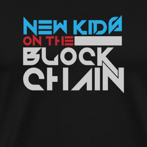New Kids on the blockchain - Männer Premium T-Shirt