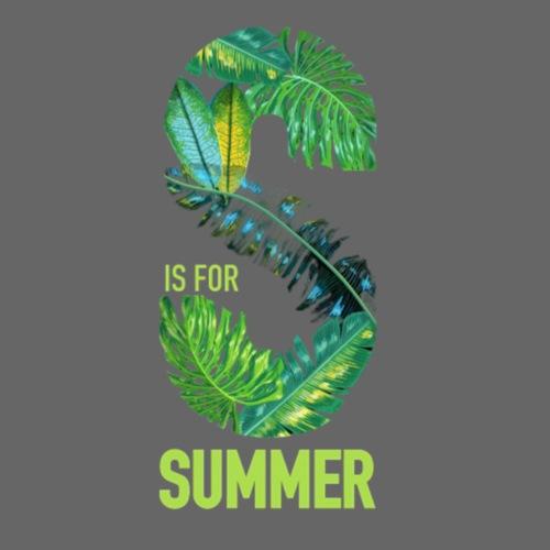 S is for summer - Männer Premium T-Shirt