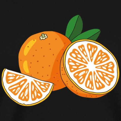 frische Orangen - Männer Premium T-Shirt