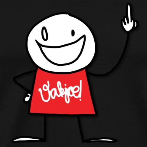 Vakjoe!poppetje - Mannen Premium T-shirt