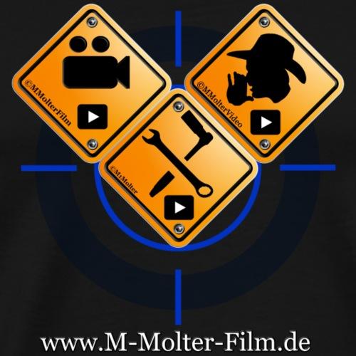 Logo Homepage M-Molter-Film.de - Männer Premium T-Shirt