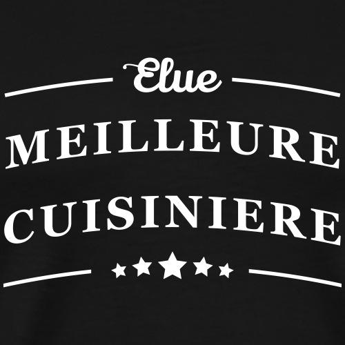Elue meilleure cuisinière - T-shirt Premium Homme