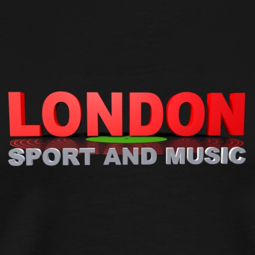London SPORT AND MUSIC - T-shirt Premium Homme