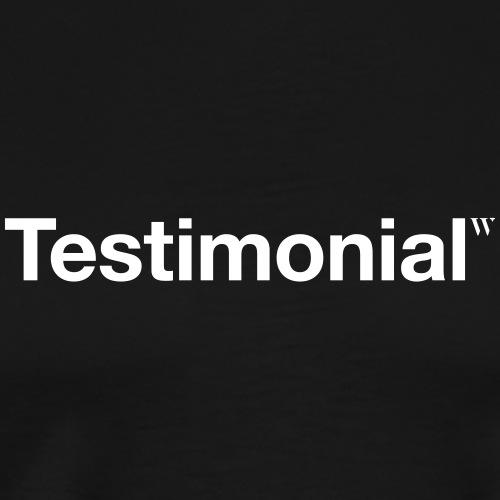 Testimonial - Männer Premium T-Shirt