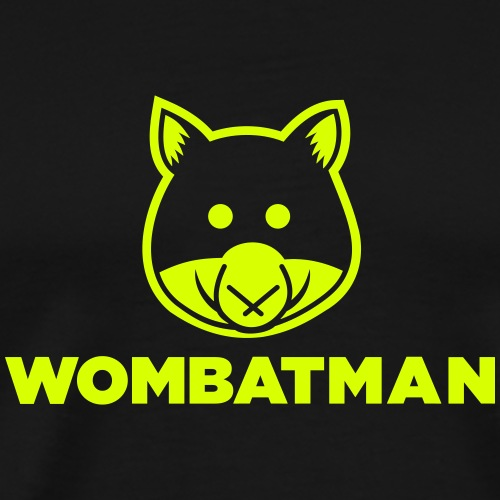 Wombatman - Männer Premium T-Shirt