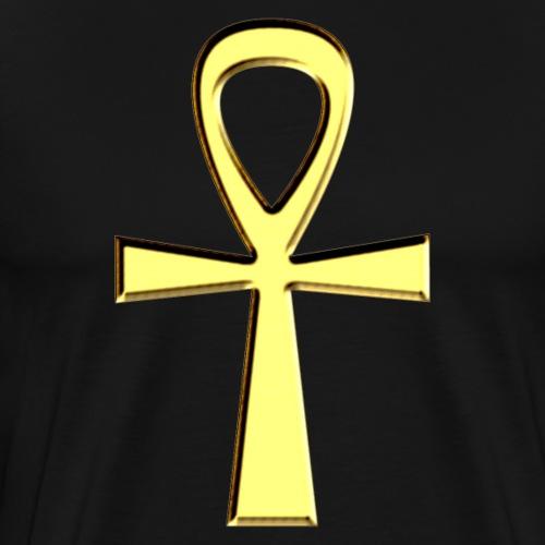 ANKH Amulett - Schlüssel des Lebens - Henkelkreuz - Männer Premium T-Shirt