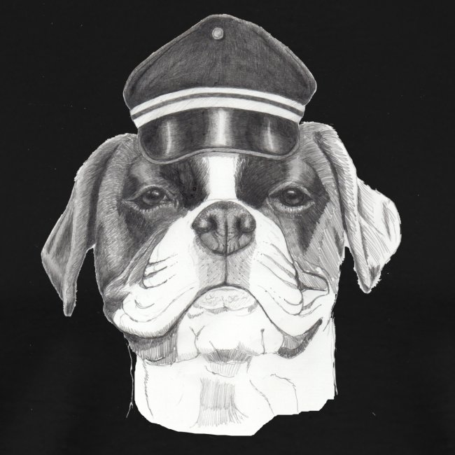 Boxer with cap