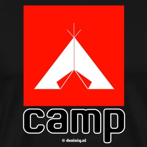 Camp - Mannen Premium T-shirt