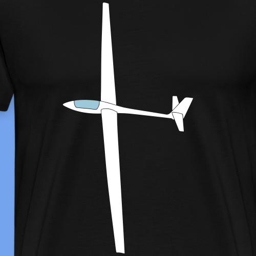 Lak12 Segelflugzeug Segelflieger gleiten Pilot - Männer Premium T-Shirt