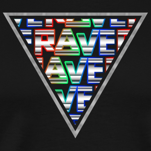 Rave Minimal Logo Techno Events Regenbogen Farben