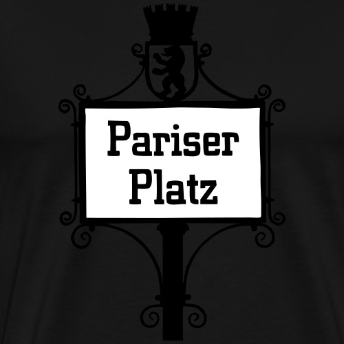 Pariser Platz BERLIN - Männer Premium T-Shirt