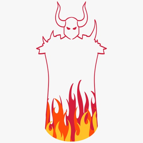 Dark Warrior - Herre premium T-shirt