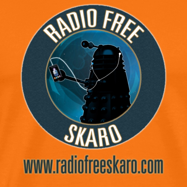 Radio Free Skaro Logo 2011 navy png
