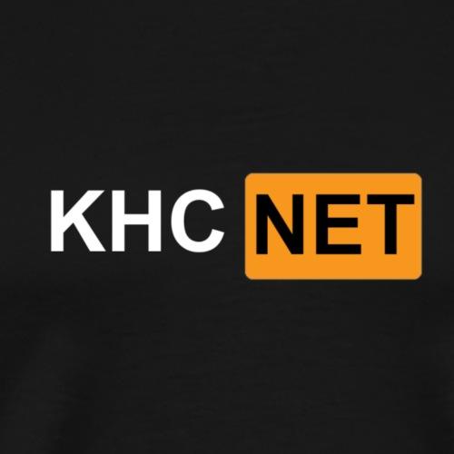 KHC-NET (hub) - Premium T-skjorte for menn