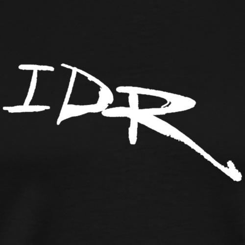 IDR Signature   White - Men's Premium T-Shirt