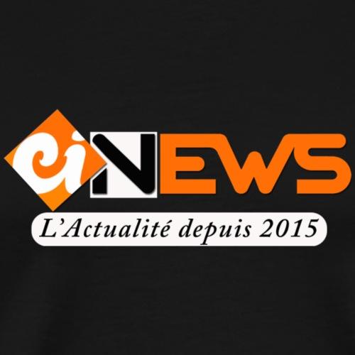 Logo du Journal Cotedivoire.News à porter - T-shirt Premium Homme